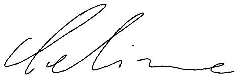 Unterschrift Celine