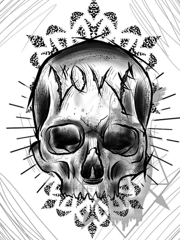 Herzwert Wannado von Florian - Skull