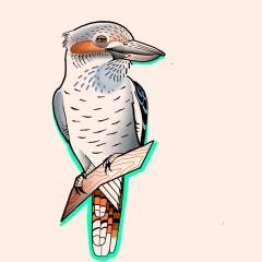 Vogel Tattoo von Celine